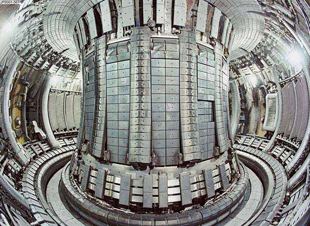 JET Project Tokamak Fusion Reactor