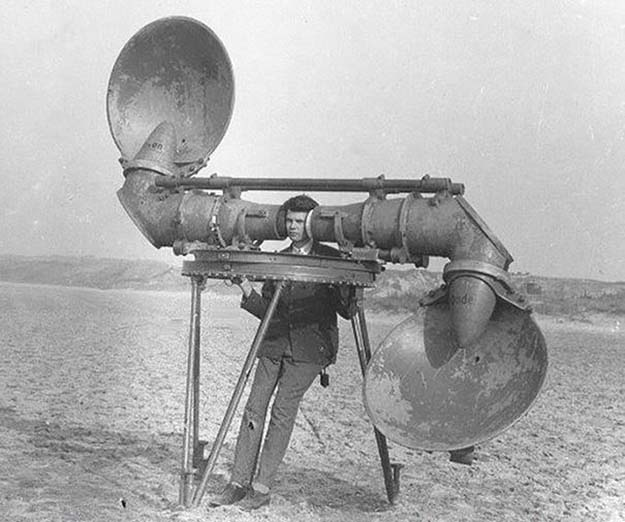 Pre-radar Listener For Enemy Aircraft