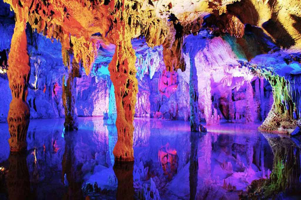 Reed Flute Caves, China