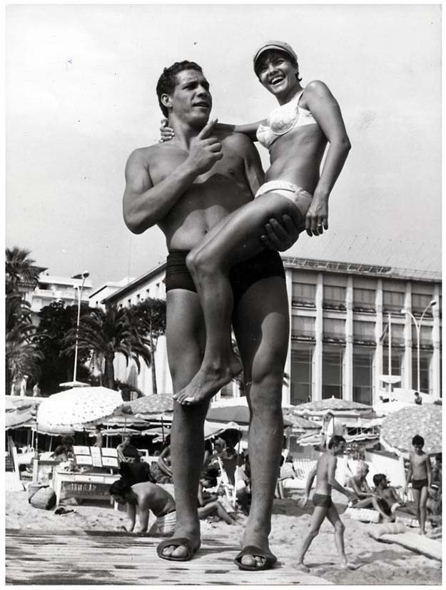 André Roussimoff (Later known as the Giant) Cannes, France, 1967