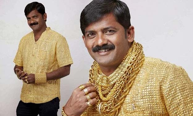 Shirt 3kg Gold Shirt ($250,000)