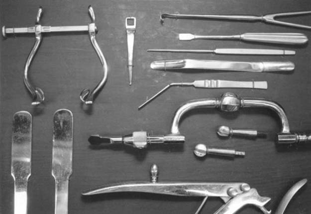 Genuine Lobotomy Tools