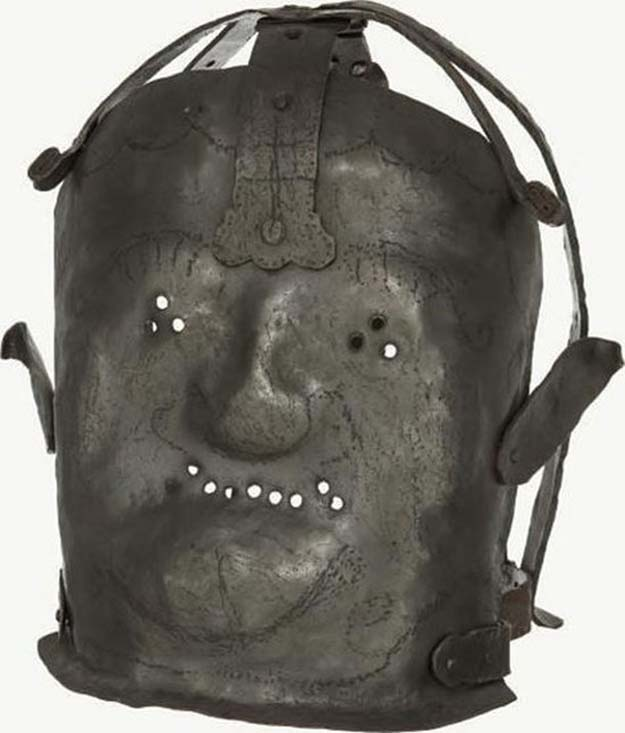 17th Century Insanity Mask