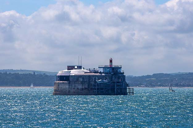 19th Century English Sea Fort Converted Into Luxury Hotel