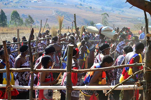 If You Were Wondering What A Traditional Swazi Wedding Looks Like, Wonder No Longer