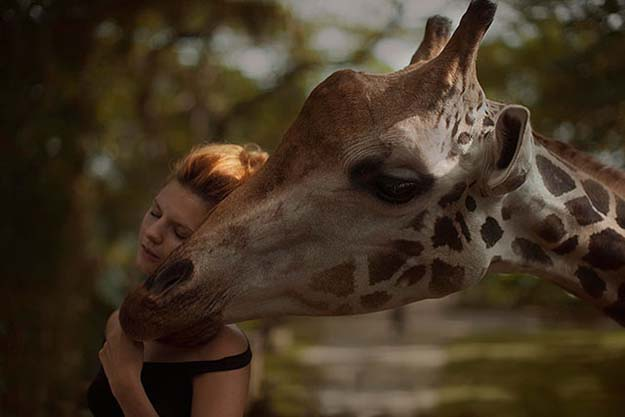 Russian Photographer Katerina Plotnikova Takes Amazing Photos With Real Animals