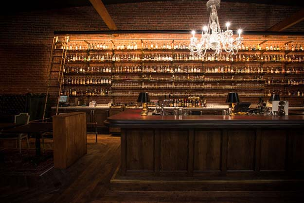 The Perfect Place To Enjoy A Nice Glass Of Whiskey After Work