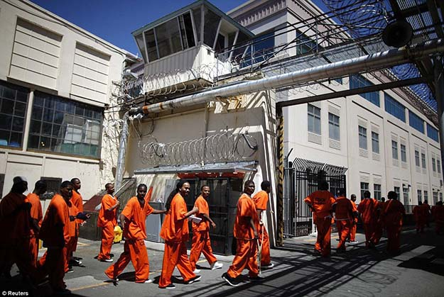 Expensive facility: It costs the state more than $180million a year to operate San Quentin