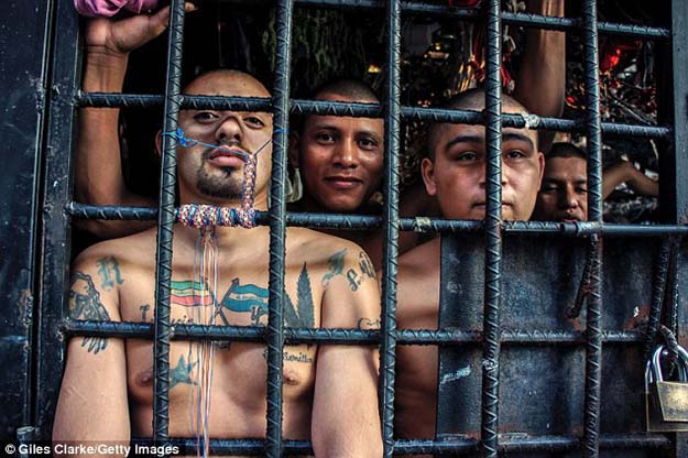 Note To Self: Don't Go To Prison In El Salvador
