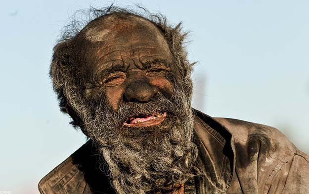 This Man Hasn't Showered In 60 Years!
