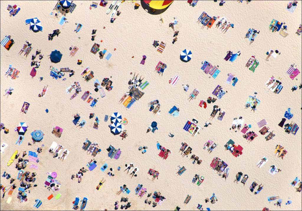 Photographs Of Beaches Around The Worlds As Seen From Above