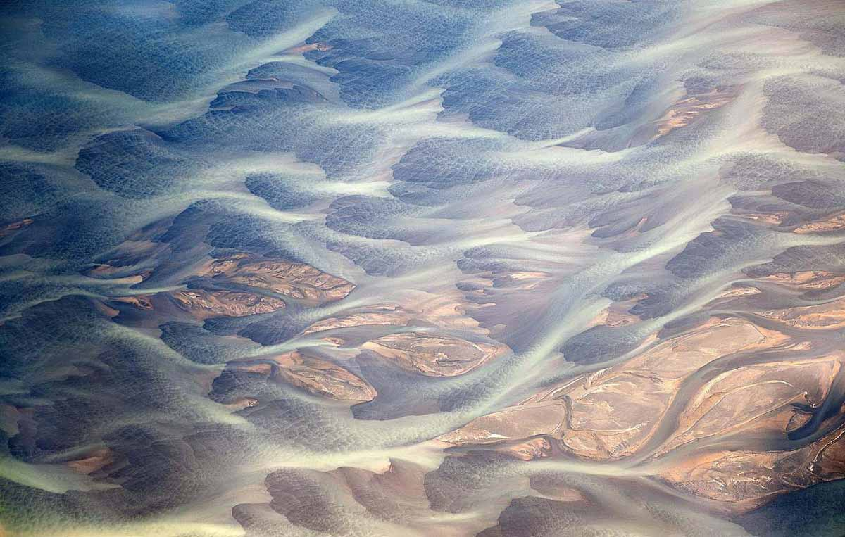 Aerial Photos of Iceland That Look Like Abstract Paintings