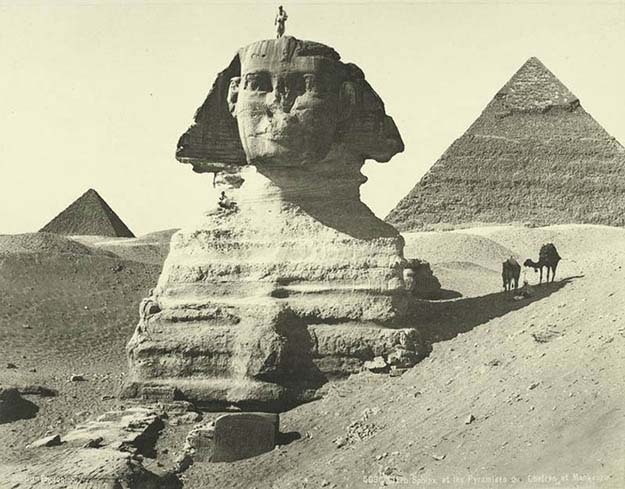 Vintage Photos Of Egypt From 1870