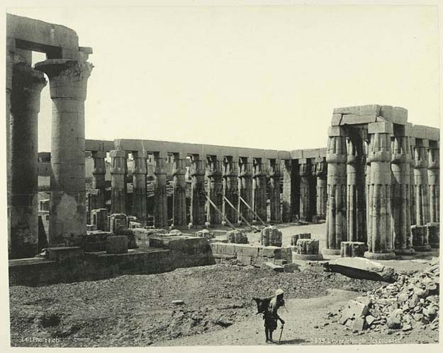 Luxor: Temple and Columns