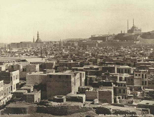 Old Cairo: Sultan Hassan Mosque and the Citadel