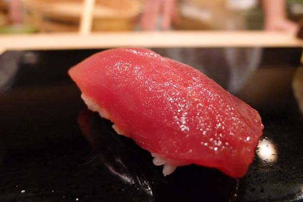 Akami (top loin of Bluefin tuna)