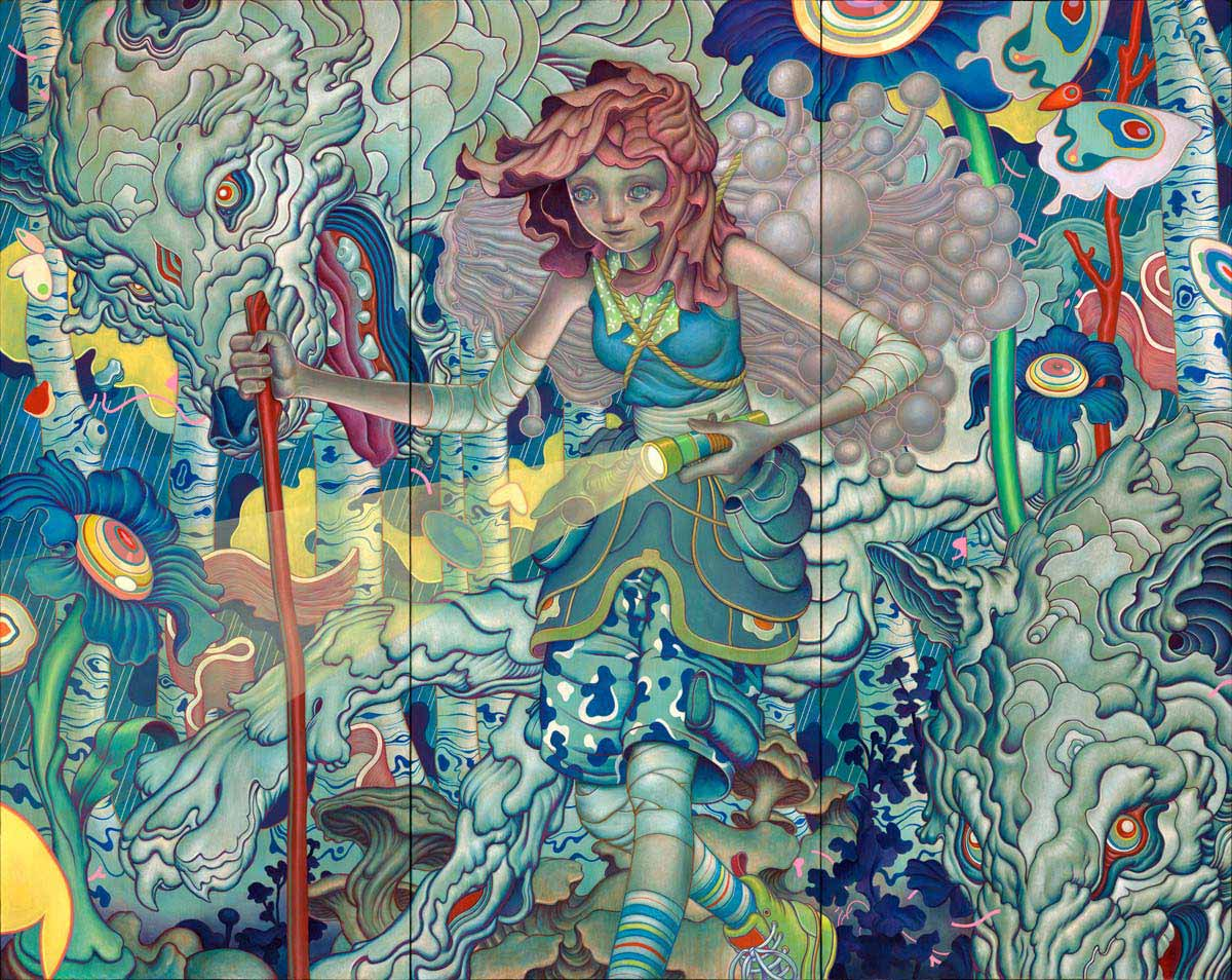 The Art Of James Jean Will Blow Your Socks Off!