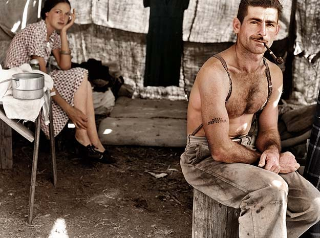 Unemployed lumber worker, ca. 1939
