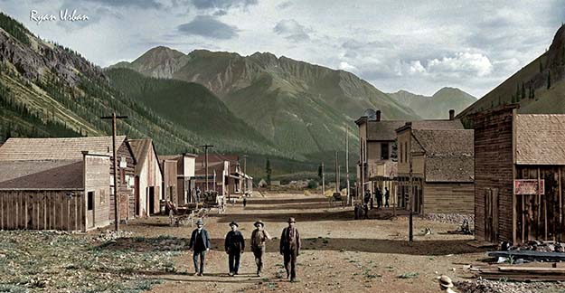 Eureka Colorado (unknown date, late 1800s)