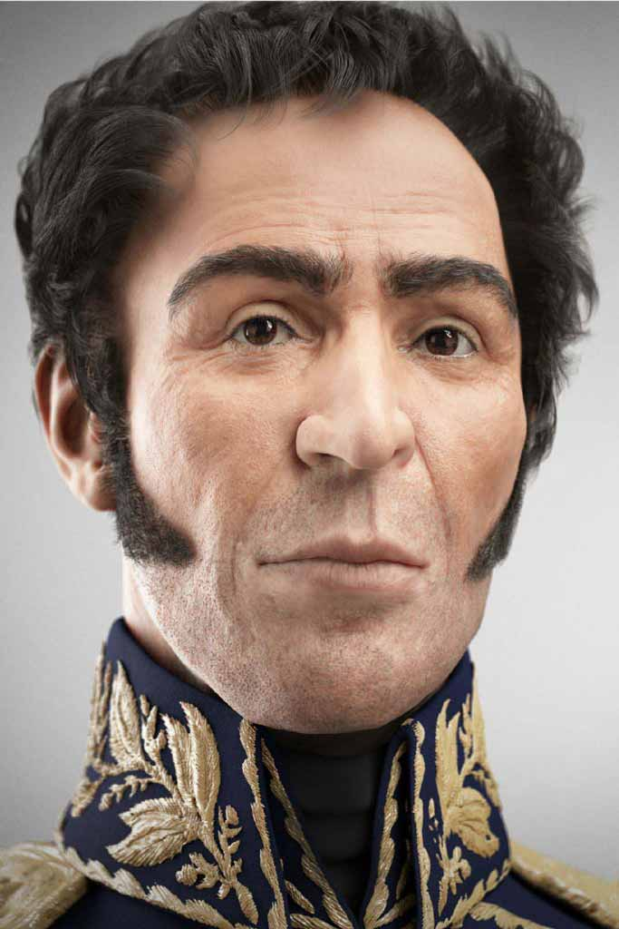 SIMON BOLIVAR by Visual Forensic