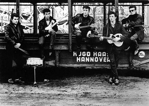 The Beatles before they were popular