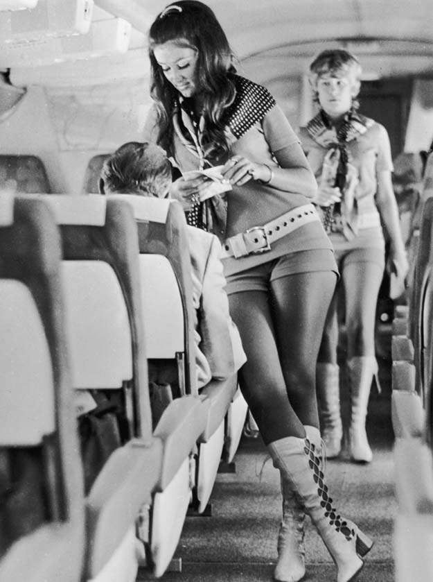 Airline Stewardess 1968