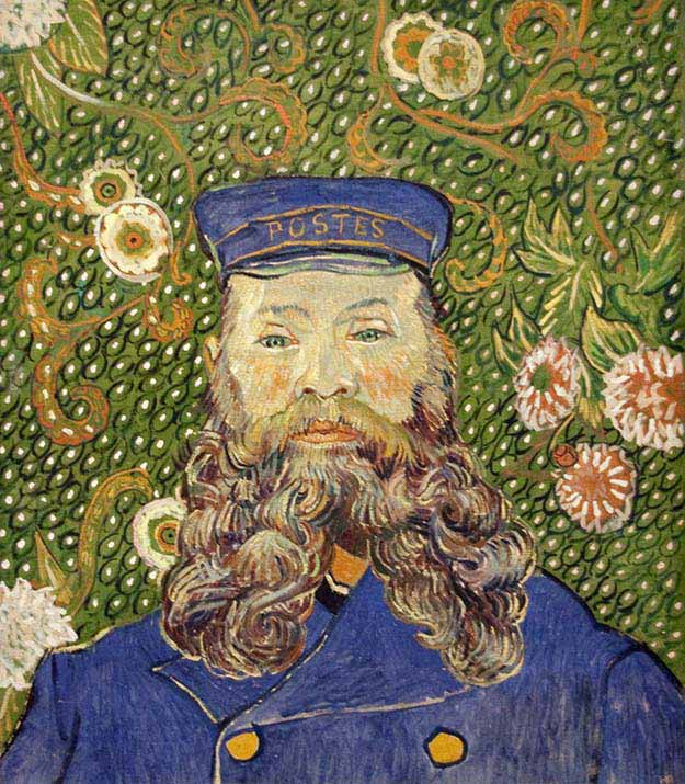 Portrait of Joseph Roulin – Vincent van Gogh