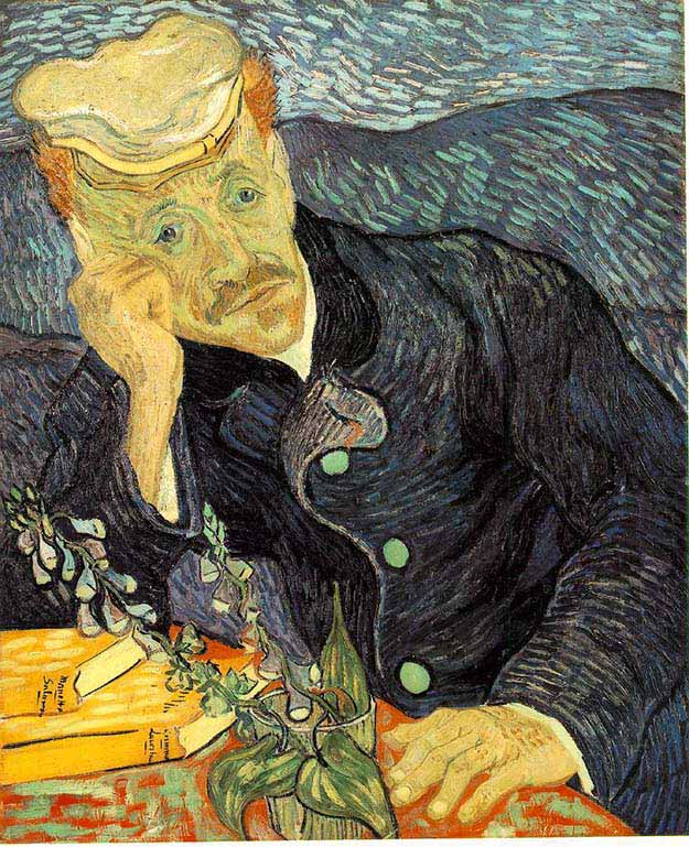 Portrait of Dr. Gachet – Vincent van Gogh
