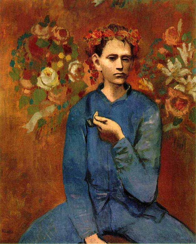 Boy with a Pipe Pablo Picasso