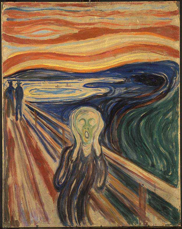 The Scream – Edvard Munch