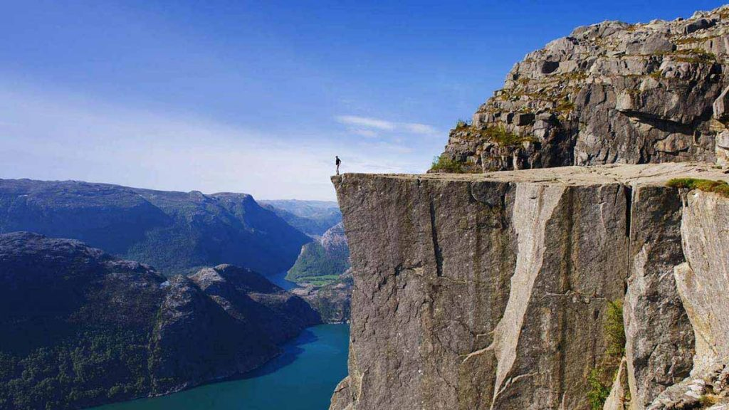Preachers Rock, Preikestolen, Norway