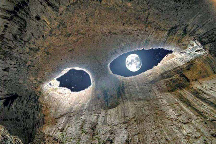 Eyes of the Devil, Prohodna Cave, Bulgaria