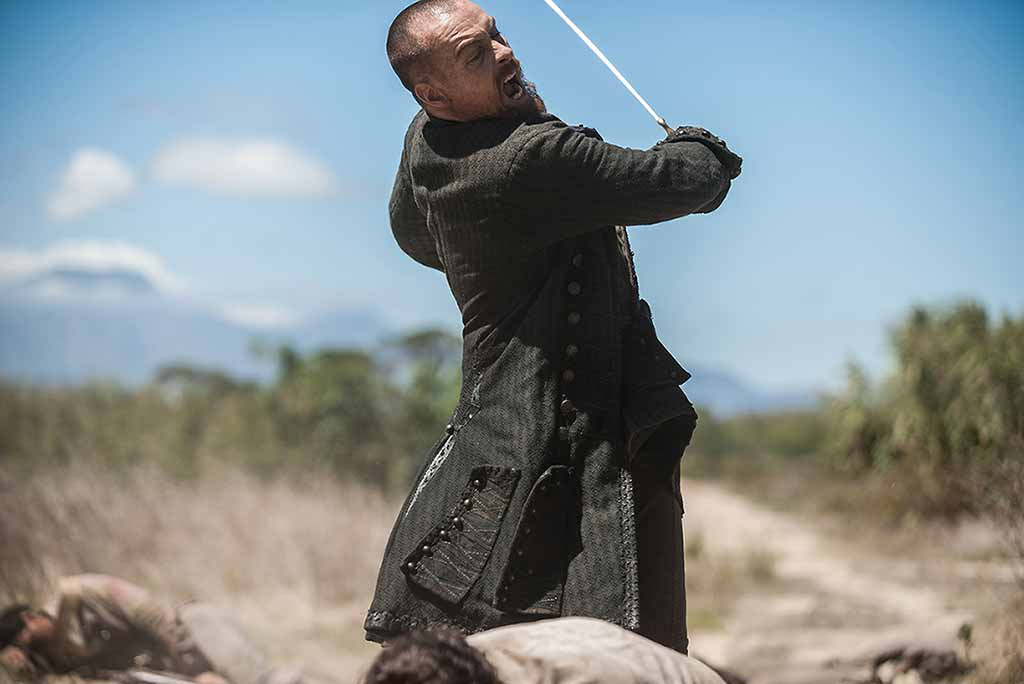 Toby Stephens is Familiar With Swords