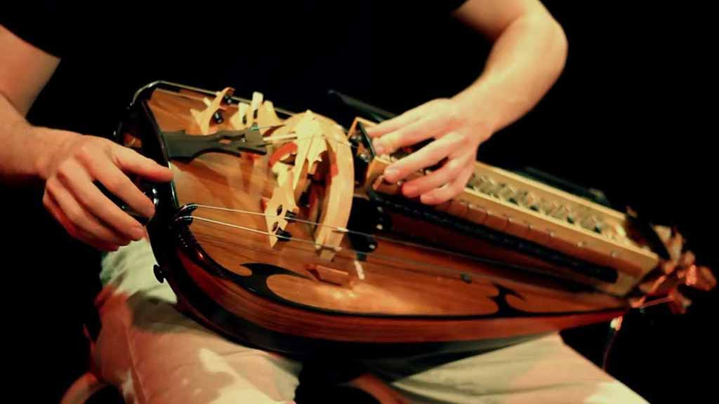 The Show's Theme Was Made With a Hurdy Gurdy