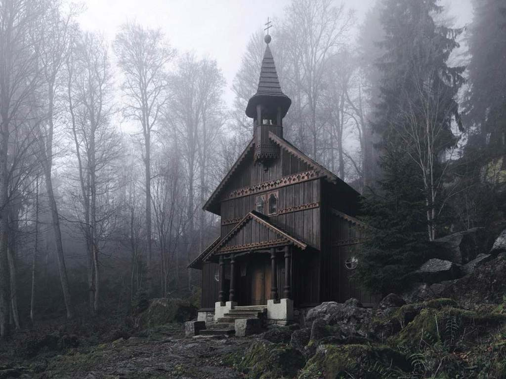Forest Chapel, Bohemian Forest, Czech Republic