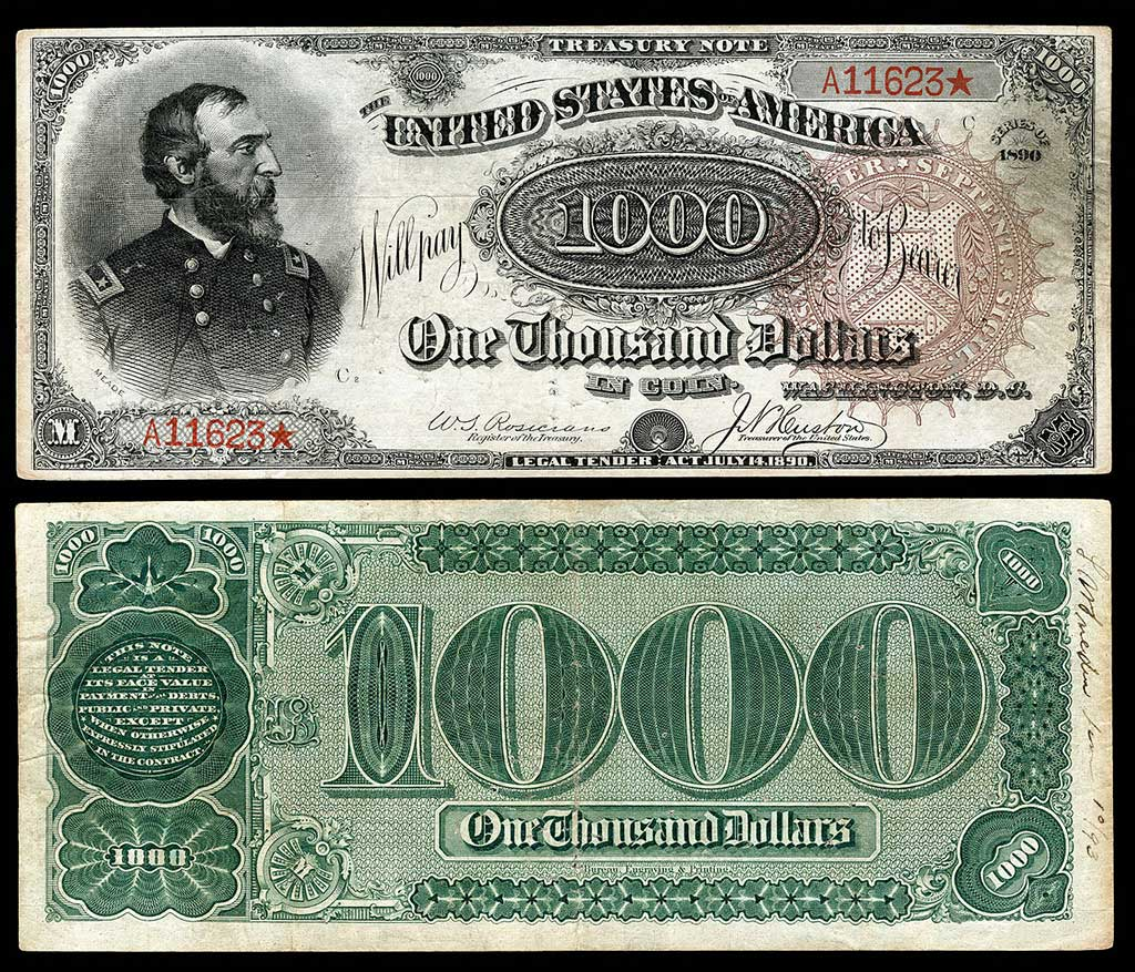 1890 Grand Watermelon Bill: $3.2 Million
