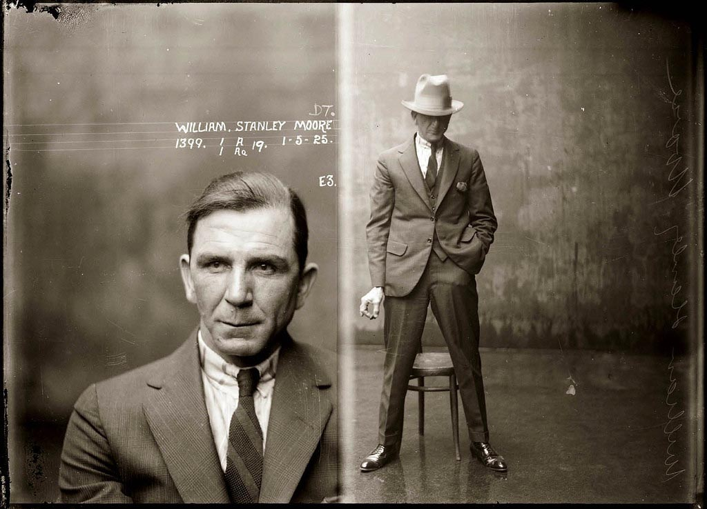 Even the mugshots were cool (1925)