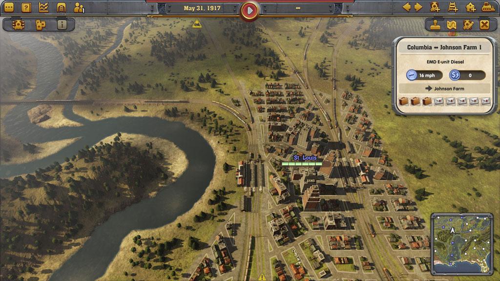 экономическая стратегия железных дорог игра